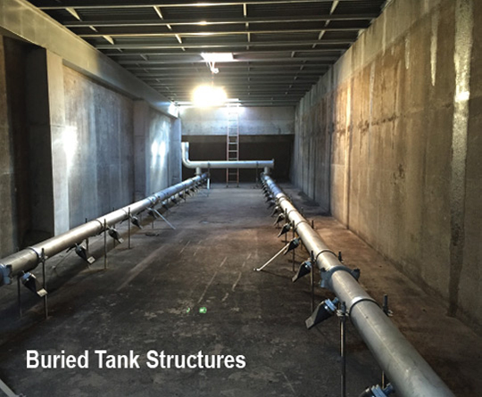 Buried Tank Structure